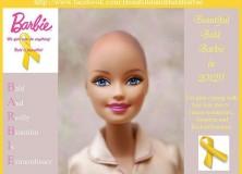 Barbie bez vlasů bojuje pro děti s rakovinou
