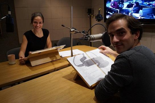 Interpreti audioknihy Veronika Kubařová a Matouš Ruml