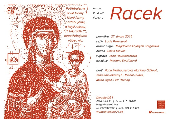 Pozvánka na premiéru Racka