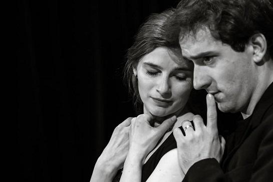 Nina Horáková a Matouš Ruml (foto ze zkoušek Petr Veselý)
