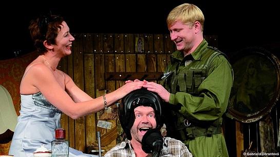 Kristýna Frejová, Ladislav Hampl, Jaroslav Šmíd (foto Gabriela Dorantová)