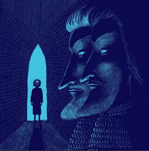 Ilustrace z knížky Pes, kocour a sirotek, Renáta Fučíková