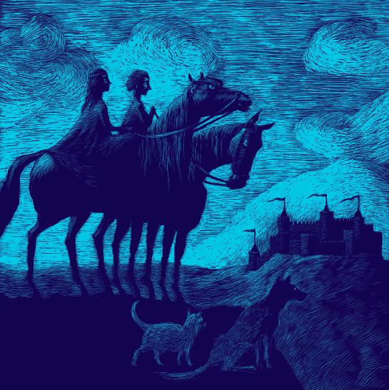 Pes, kocour a sirotek ilustrace Renáta Fučíková