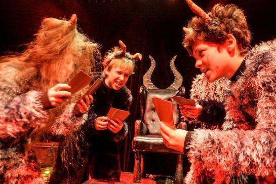 Mladé divadelní studio LAIK už nastudovalo pohádku Elce, Pelce do pekelce, foto J. Sejkora
