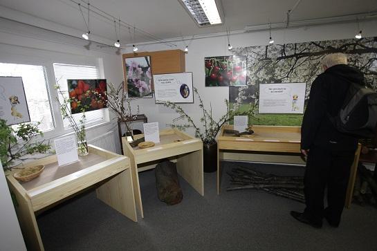 hmatová výstava botanická zahrada