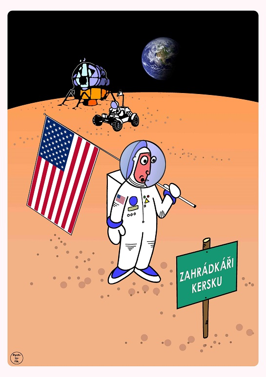 výstava karikatur Bohumil Hrabal