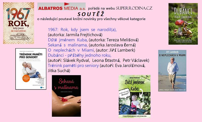 soutěž s Albatros Media